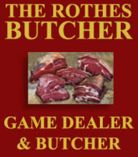 Purveyors of locally reared, high quality beef, pork and lamb. Our game department offers wild red and roe deer, hare, pheasant, partridge, duck, pigeon and grouse. All game available on request. We also provide a plucking and cleaning service. Deep freeze orders undertaken.