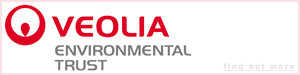 Many thanks to The Veolia Environmental Trust