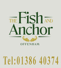 Fish and Anchor provides a warm and welcoming place for you to come and relax, enjoy a drink and some great homemade food. In May of 2014, the Fish and Anchor became under the new ownership of Craig and Karen of Offenham Park just across the road (a holiday park, providing permanently sited holiday homes for holiday use 11 months of the year). We aim to make a few small changes for the better, to make your visit a little more special, without losing the friendly warm welcome that you currently enjoy from the friendly staff. We offer a really varied menu, with several specials that change regularly, all freshly cooked and homemade at a great price. We also offer traditional ales and a good range of lagers and ciders, with a good selection of wines.