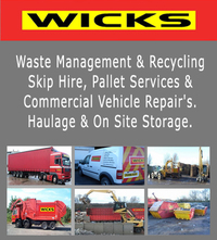 Skip Hire, Pallet Services and Commercial Vehicle Repair's. Haulage and On Site Storage. Recycling Services Livestock Bedding - Confidential Shredding - Paper Banks - Cardboard Collections - Pallet Collection & Recycling - Composting - Electrical WEEE - Soils - Stone/Brick.