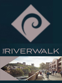 Located in the heart of Durham City, The Riverwalk will open up the river to Durham. Development is under way to create a spectacular new riverfront leisure destination where everyone can relax, refresh and rewind.