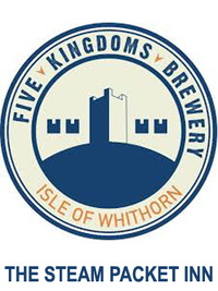 Five Kingdoms microbrewery began in 2015 and sits in the beautiful harbourside village of The Isle of Whithorn in Dumfries and Galloway. The small fishing village is nestled on the tip of the Machars peninsula, close to the stunning Galloway Forest hills and is Scotland's most southerly brewery. Five Kingdoms, so called because England, Ireland, The Isle of Man, Wales and Scotland can all be visible on a clear day from the Isle. It came about through a mutual passion for beer of publican Alastair Scoular who owns and runs The Steam Packet Inn, the village's only pub and his head chef Brendon Dennett. Brendon, who had previously worked at renowned Scottish brewery 6 Degrees North in Stonehaven brought this wealth of brewing knowledge to the partnership. With the location, premises and experience of the pub trade and a pure passion for real ale, Alastair and Brendon were the perfect balance for a successful venture to create honest, fine ales.